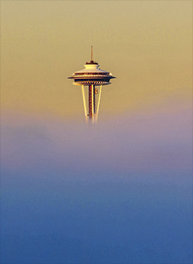 above the fog seattle